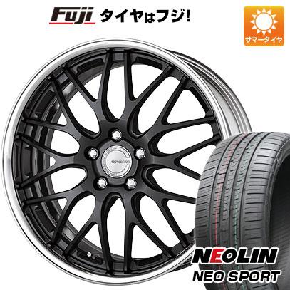 タイヤはフジ 送料無料 WORK ワーク グノーシスHR 201 7.5J 7.50-19 NEOLIN ネオリン ネオスポーツ(限定) 225/35R19 19インチ サマータイヤ ホイール4本セット