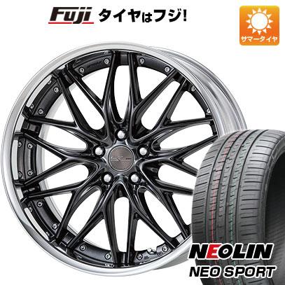 タイヤはフジ 送料無料 WORK ワーク シュヴァート クヴェル 8.5J 8.50-20 NEOLIN ネオリン ネオスポーツ(限定) 245/35R20 20インチ サマータイヤ ホイール4本セット