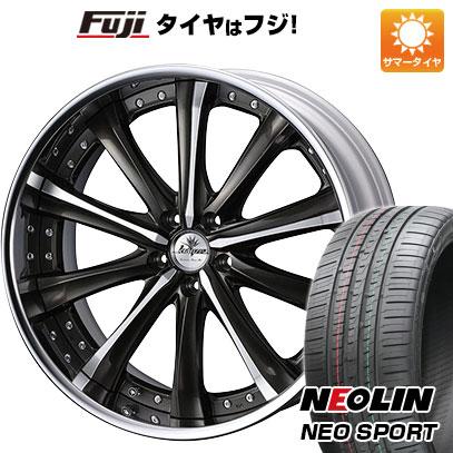タイヤはフジ 送料無料 WEDS ウェッズ クレンツェ マリシーブ 8.5J 8.50-20 NEOLIN ネオリン ネオスポーツ(限定) 245/35R20 20インチ サマータイヤ ホイール4本セット