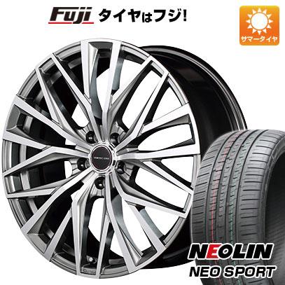 タイヤはフジ 送料無料 MID ヴァーテックワン アルバトロス 7J 7.00-17 NEOLIN ネオリン ネオスポーツ(限定) 215/45R17 17インチ サマータイヤ ホイール4本セット