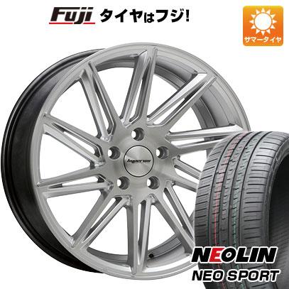 タイヤはフジ 送料無料 MLJ ハイペリオン CVR 8J 8.00-19 NEOLIN ネオリン ネオスポーツ(限定) 245/40R19 19インチ サマータイヤ ホイール4本セット
