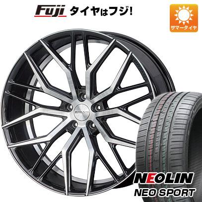 タイヤはフジ 送料無料 ROJAM ロジャム ファスター 7.5J 7.50-19 NEOLIN ネオリン ネオスポーツ(限定) 215/35R19 19インチ サマータイヤ ホイール4本セット
