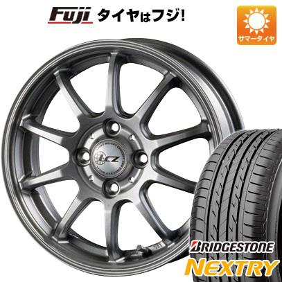 タイヤはフジ 送料無料 INTER MILANO インターミラノ LCZ 010 4.5J 4.50-14 BRIDGESTONE ブリヂストン NEXTRY ネクストリー(限定) 155/65R14 14インチ サマータイヤ ホイール4本セット