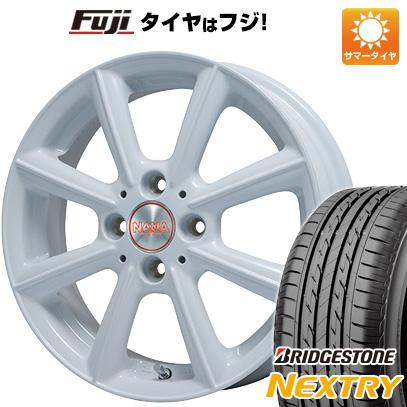 タイヤはフジ 送料無料 PREMIX プレミックス ナナ 4.5J 4.50-14 BRIDGESTONE ブリヂストン NEXTRY ネクストリー(限定) 155/65R14 14インチ サマータイヤ ホイール4本セット