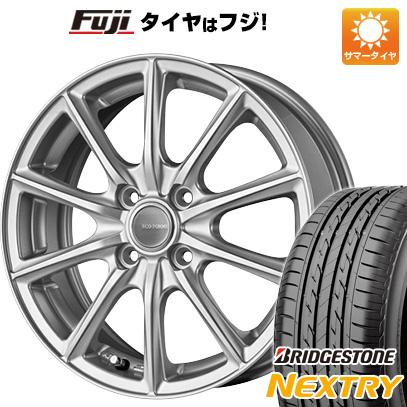 タイヤはフジ 送料無料 BRIDGESTONE ブリヂストン エコフォルム SE-15 4.5J 4.50-14 BRIDGESTONE ブリヂストン NEXTRY ネクストリー(限定) 155/65R14 14インチ サマータイヤ ホイール4本セット