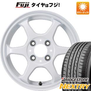 タイヤはフジ 送料無料 カジュアルセット タイプL 2. 4.5J 4.50-15 BRIDGESTONE ブリヂストン NEXTRY ネクストリー(限定) 165/55R15 15インチ サマータイヤ ホイール4本セット