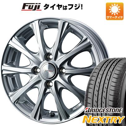 タイヤはフジ 送料無料 WEDS ウェッズ ジョーカー マジック 4.5J 4.50-14 BRIDGESTONE ブリヂストン NEXTRY ネクストリー(限定) 155/65R14 14インチ サマータイヤ ホイール4本セット