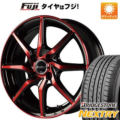 タイヤはフジ 送料無料 MID ユーロスピード S810 4.5J 4.50-14 BRIDGESTONE ブリヂストン NEXTRY ネクストリー(限定) 155/65R14 14インチ サマータイヤ ホイール4本セット
