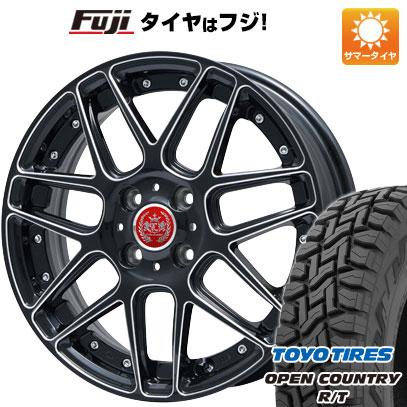 タイヤはフジ 送料無料 LEHRMEISTER レアマイスター ドレスデン ブラックエッジブラッシュド 限定 5J 5.00-15 TOYO OPEN COUNTRY R/T 165/60R15 15インチ サマータイヤ ホイール4本セット
