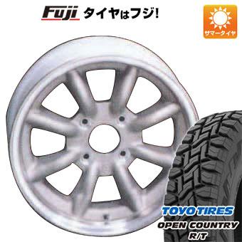 タイヤはフジ 送料無料 WATANABE ワタナベ エイトスポーク 5.5J 5.50-15 TOYO OPEN COUNTRY R/T 165/60R15 15インチ サマータイヤ ホイール4本セット