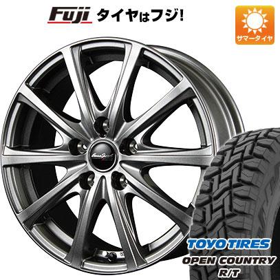 タイヤはフジ 送料無料 MID ユーロスピード V25 4J 4.00-12 TOYO OPEN COUNTRY R/T 80/78N 145/80R12 12インチ サマータイヤ ホイール4本セット