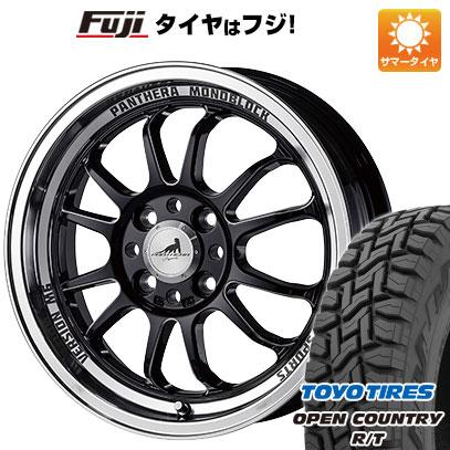 タイヤはフジ 送料無料 5ZIGEN ゴジゲン パンテーラ バージョンM6 5J 5.00-15 TOYO OPEN COUNTRY R/T 165/60R15 15インチ サマータイヤ ホイール4本セット
