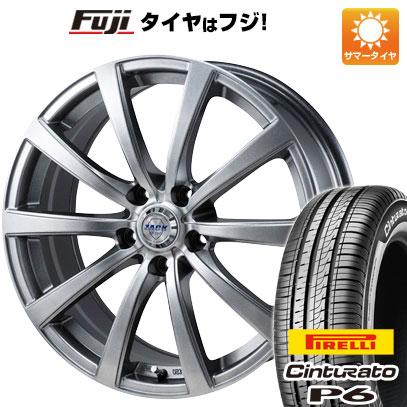 タイヤはフジ 送料無料 MONZA モンツァ ZACK JP-110 10スポーク 6.5J 6.50-16 PIRELLI チンチュラートP6 215/65R16 16インチ サマータイヤ ホイール4本セット