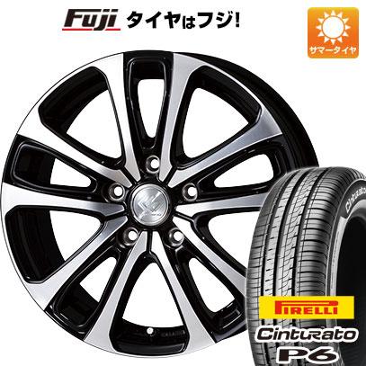 タイヤはフジ 送料無料 TOPY トピー セレブロ LF5 6.5J 6.50-16 PIRELLI チンチュラートP6 205/55R16 16インチ サマータイヤ ホイール4本セット