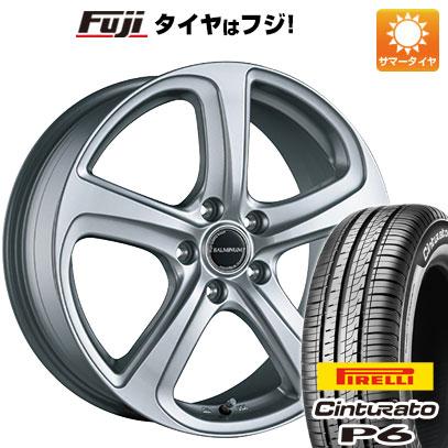 タイヤはフジ 送料無料 シエンタ 5穴/100 BRIDGESTONE ブリヂストン バルミナ ZR5 6J 6.00-15 PIRELLI チンチュラートP6 185/60R15 15インチ サマータイヤ ホイール4本セット