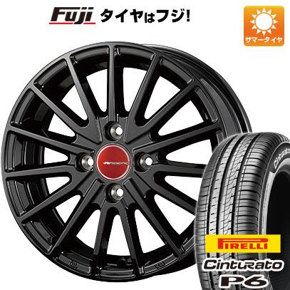 タイヤはフジ 送料無料 KOSEI コーセイ エアベルグ ゼノン 5.5J 5.50-15 PIRELLI チンチュラートP6 185/60R15 15インチ サマータイヤ ホイール4本セット