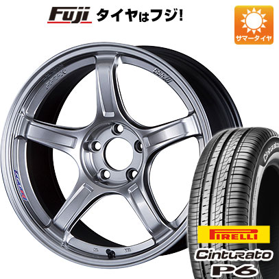 タイヤはフジ 送料無料 SSR GTX03 7J 7.00-17 PIRELLI チンチュラートP6 205/50R17 17インチ サマータイヤ ホイール4本セット