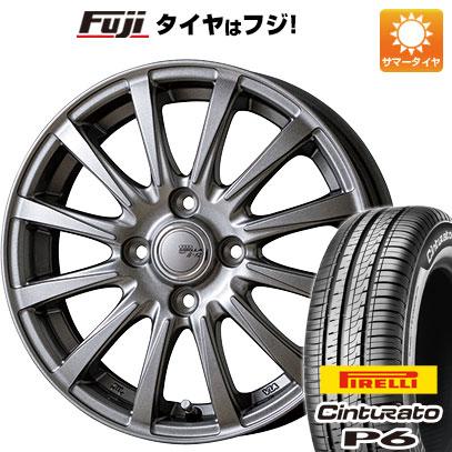 タイヤはフジ 送料無料 TOPY トピー シビラ NEXT B-12 5.5J 5.50-15 PIRELLI チンチュラートP6 175/65R15 15インチ サマータイヤ ホイール4本セット
