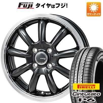 タイヤはフジ 送料無料 MONZA モンツァ JPスタイル バーニー 5.5J 5.50-15 PIRELLI チンチュラートP6 185/60R15 15インチ サマータイヤ ホイール4本セット