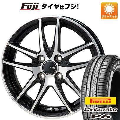 タイヤはフジ 送料無料 MONZA モンツァ JPスタイル グリッド 5.5J 5.50-15 PIRELLI チンチュラートP6 185/60R15 15インチ サマータイヤ ホイール4本セット