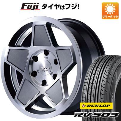 タイヤはフジ 送料無料 ハイエース200系 M-TECHNO エムテクノ M.T.S. S-インパクト限定 7J 7.00-17 DUNLOP RV503C 215/60R17 17インチ サマータイヤ ホイール4本セット