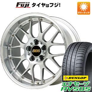 【取付対象】 【送料無料】 225/55R18 18インチ BBS JAPAN BBS RS-GT 7.5J 7.50-18 DUNLOP ダンロップ エナセーブ RV505 サマータイヤ ホイール4本セット