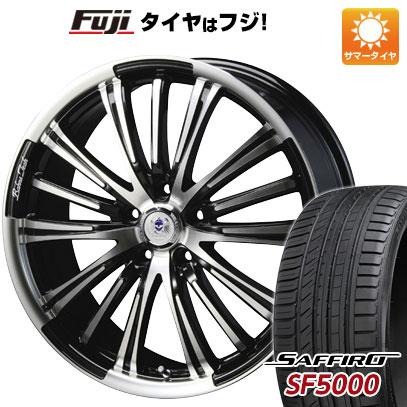 タイヤはフジ 送料無料 BLEST ブレスト バーンズテック VR-01 8.5J 8.50-20 SAFFIRO サフィーロ SF5000(限定) 245/40R20 20インチ サマータイヤ ホイール4本セット