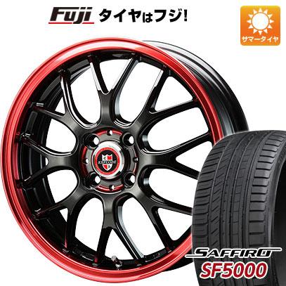 タイヤはフジ 送料無料 BIGWAY ビッグウエイ EXPLODE RBM 6J 6.00-16 SAFFIRO サフィーロ SF5000(限定) 195/45R16 16インチ サマータイヤ ホイール4本セット