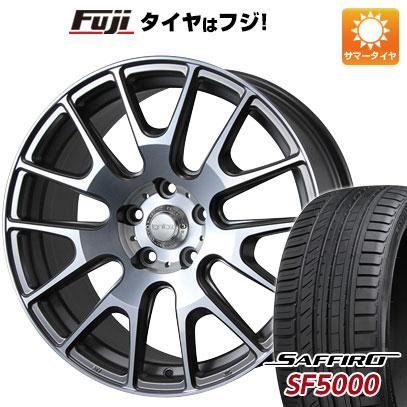 タイヤはフジ 送料無料 MLJ イグナイト エクストラック 7.5J 7.50-18 SAFFIRO サフィーロ SF5000(限定) 225/55R18 18インチ サマータイヤ ホイール4本セット