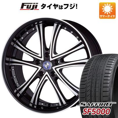 タイヤはフジ 送料無料 MONZA モンツァ ワーウィック DS.05 7J 7.00-18 SAFFIRO サフィーロ SF5000(限定) 215/40R18 18インチ サマータイヤ ホイール4本セット