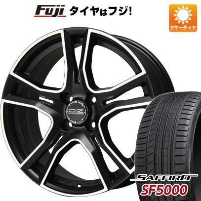 タイヤはフジ 送料無料 OZ X-LINE アドレナリーナ 6.5J 6.50-16 SAFFIRO サフィーロ SF5000(限定) 195/50R16 16インチ サマータイヤ ホイール4本セット