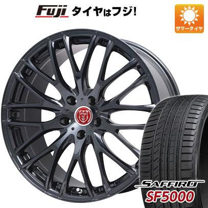 タイヤはフジ 送料無料 PREMIX プレミックス グラッパ(ブラックパール) 7.5J 7.50-19 SAFFIRO サフィーロ SF5000(限定) 225/35R19 19インチ サマータイヤ ホイール4本セット