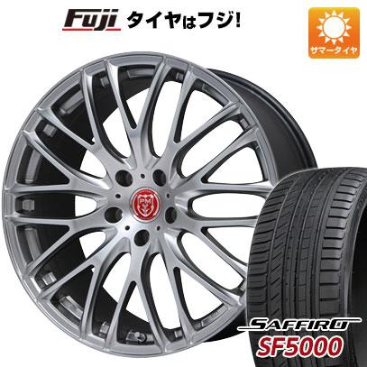 タイヤはフジ 送料無料 PREMIX プレミックス グラッパ(マットクリスタルシルバー) 7.5J 7.50-19 SAFFIRO サフィーロ SF5000(限定) 225/40R19 19インチ サマータイヤ ホイール4本セット