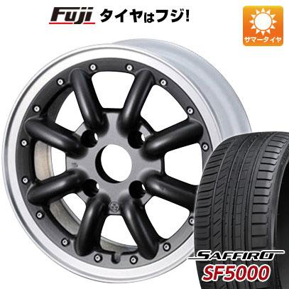 タイヤはフジ 送料無料 WATANABE ワタナベ New RS8 6J 6.00-14 SAFFIRO サフィーロ SF5000(限定) 175/65R14 14インチ サマータイヤ ホイール4本セット