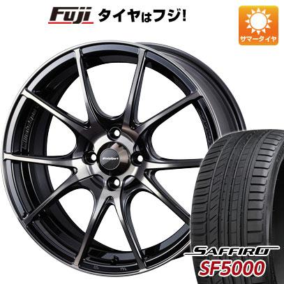 タイヤはフジ 送料無料 WEDS ウェッズスポーツ SA-10R 6.5J 6.50-16 SAFFIRO サフィーロ SF5000(限定) 195/45R16 16インチ サマータイヤ ホイール4本セット