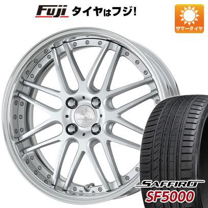 タイヤはフジ 送料無料 WORK ワーク リザルタード メッシュ 6.5J 6.50-16 SAFFIRO サフィーロ SF5000(限定) 205/50R16 16インチ サマータイヤ ホイール4本セット