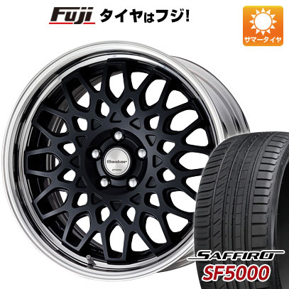 タイヤはフジ 送料無料 WORK ワーク シーカー CX 7J 7.00-17 SAFFIRO サフィーロ SF5000(限定) 215/55R17 17インチ サマータイヤ ホイール4本セット