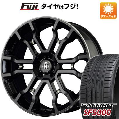 タイヤはフジ 送料無料 RAYS レイズ フルクロス クロススリーカーズ T6 7.5J 7.50-18 SAFFIRO サフィーロ SF5000(限定) 235/50R18 18インチ サマータイヤ ホイール4本セット