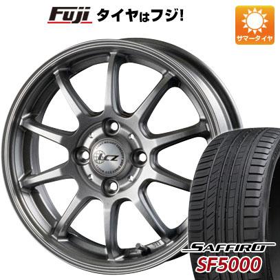 タイヤはフジ 送料無料 INTER MILANO インターミラノ LCZ 010 6J 6.00-16 SAFFIRO サフィーロ SF5000(限定) 205/50R16 16インチ サマータイヤ ホイール4本セット