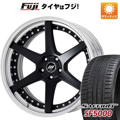 タイヤはフジ 送料無料 WORK ワーク ジースト ST1 9J 9.00-21 SAFFIRO サフィーロ SF5000(限定) 245/35R21 21インチ サマータイヤ ホイール4本セット