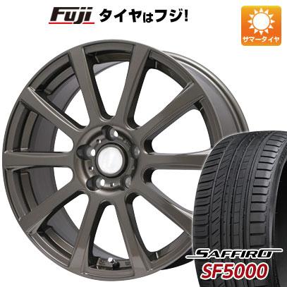 タイヤはフジ 送料無料 BRANDLE ブランドル 565Z 6J 6.00-15 SAFFIRO サフィーロ SF5000(限定) 205/65R15 15インチ サマータイヤ ホイール4本セット