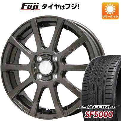 タイヤはフジ 送料無料 BRANDLE ブランドル 565Z 5.5J 5.50-14 SAFFIRO サフィーロ SF5000(限定) 175/65R14 14インチ サマータイヤ ホイール4本セット