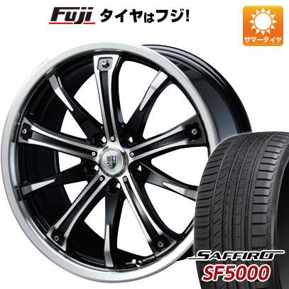 タイヤはフジ 送料無料 BLEST ブレスト バーンシュポルト タイプ505 7.5J 7.50-19 SAFFIRO サフィーロ SF5000(限定) 225/35R19 19インチ サマータイヤ ホイール4本セット