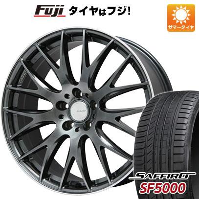 タイヤはフジ 送料無料 RAYS レイズ ホムラ 2X9 Limited 8J 8.00-19 SAFFIRO サフィーロ SF5000(限定) 225/40R19 19インチ サマータイヤ ホイール4本セット