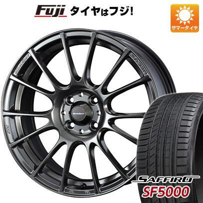 タイヤはフジ 送料無料 WEDS ウェッズスポーツ SA-72R 6.5J 6.50-16 SAFFIRO サフィーロ SF5000(限定) 195/55R16 16インチ サマータイヤ ホイール4本セット