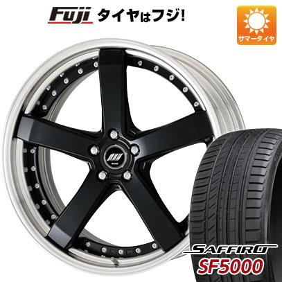 タイヤはフジ 送料無料 WORK ワーク ジースト ST2 9J 9.00-21 SAFFIRO サフィーロ SF5000(限定) 245/35R21 21インチ サマータイヤ ホイール4本セット