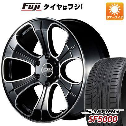 タイヤはフジ 送料無料 ハイエース200系 M-TECHNO エムテクノ M.T.S. MJ20-01S 8.5J 8.50-20 SAFFIRO サフィーロ SF5000(限定) 225/35R20 20インチ サマータイヤ ホイール4本セット