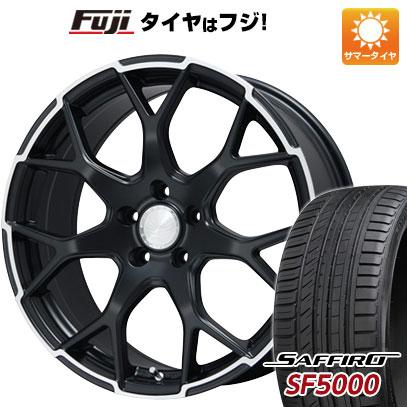 タイヤはフジ 送料無料 ALGERNON アルジェノン フェニーチェ MX-1 8.5J 8.50-22 SAFFIRO サフィーロ SF5000(限定) 245/30R22 22インチ サマータイヤ ホイール4本セット
