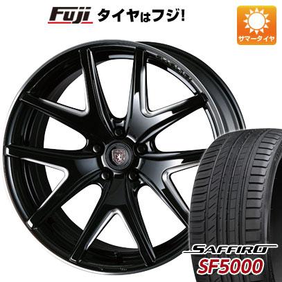 タイヤはフジ 送料無料 CRIMSON クリムソン クラブリネア ヴィエリ FF F:8.50-20 R:9.50-20 SAFFIRO サフィーロ SF5000(限定) F:245/35R20 R:275/30R20 サマータイヤ ホイール4本セット