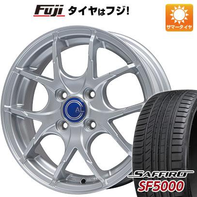 タイヤはフジ 送料無料 BRANDLE ブランドル M69 5.5J 5.50-14 SAFFIRO サフィーロ SF5000(限定) 185/65R14 14インチ サマータイヤ ホイール4本セット